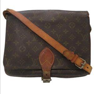 VTG Louis Vuitton Cartoucherie GM Crossbody Bag